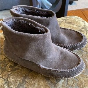 Suede Leather Tory Burch used slipper shoes
